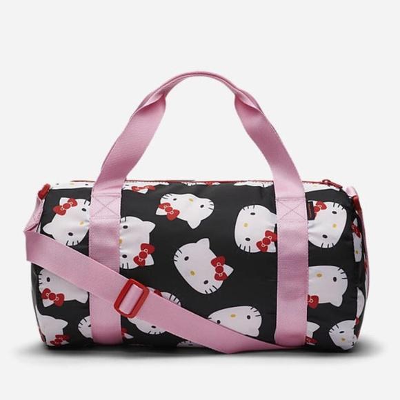 21701a32f0 CONVERSE X HELLO KITTY Duffel Bag Nwt